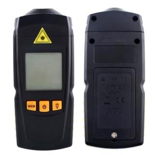 【BENETECH】GM8905 數位顯示鐳射轉速表 非接觸式光電轉速計