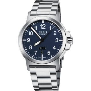 【ORIS】BC3 Advanced 日曆星期機械腕錶-藍/42mm(73576414165-0782203)