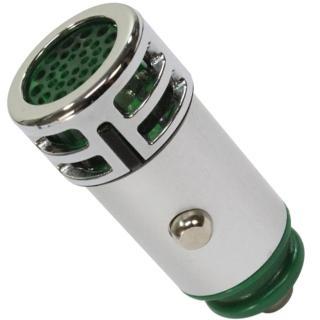 【omax】臭氧負離子2合1車用空氣清淨器-1入-綠色(12H)