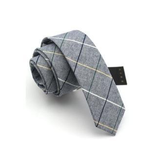 【拉福】棉質領帶窄版領帶6cm(灰色系)