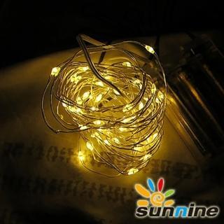 【旭創光電】LED 燈飾燈串50燈 暖白