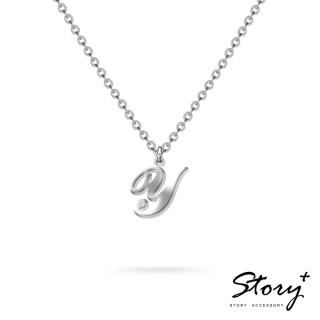 【STORY ACCESSORY】字母系列-字母Y 純銀項鍊
