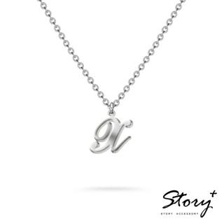 【STORY ACCESSORY】字母系列-字母X 純銀項鍊