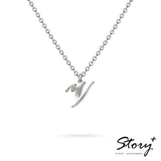 【STORY ACCESSORY】字母系列-字母V 純銀項鍊