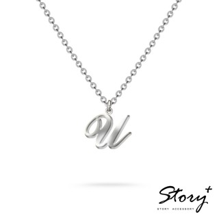 【STORY ACCESSORY】字母系列-字母U 純銀項鍊