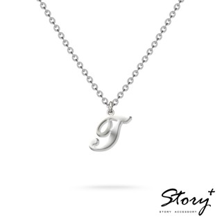 【STORY ACCESSORY】字母系列-字母T 純銀項鍊
