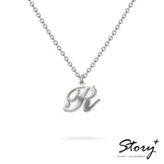 【STORY ACCESSORY】字母系列-字母R 純銀項鍊
