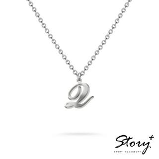【STORY ACCESSORY】字母系列-字母Q 純銀項鍊