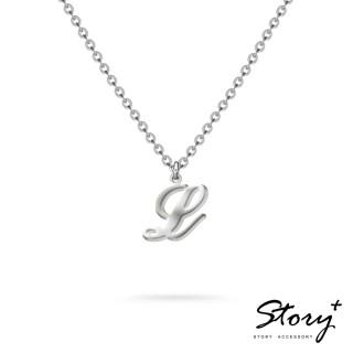 【STORY ACCESSORY】字母系列-字母L 純銀項鍊