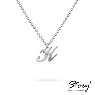 【STORY ACCESSORY】字母系列-字母K 純銀項鍊