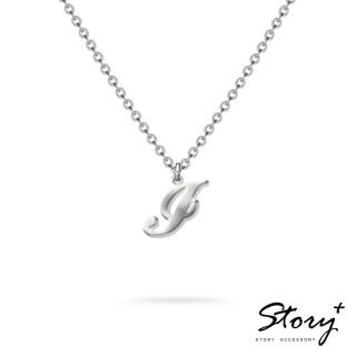 【STORY ACCESSORY】字母系列-字母I 純銀項鍊