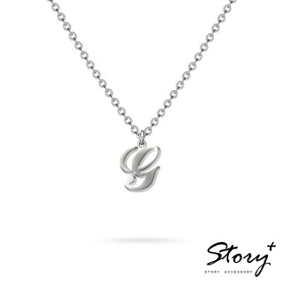 【STORY ACCESSORY】字母系列-字母G 純銀項鍊