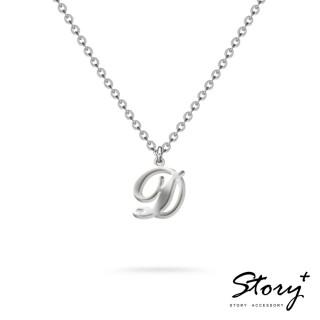 【STORY ACCESSORY】字母系列-字母D 純銀項鍊