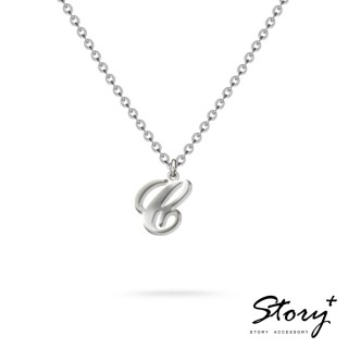 【STORY ACCESSORY】字母系列-字母C 純銀項鍊