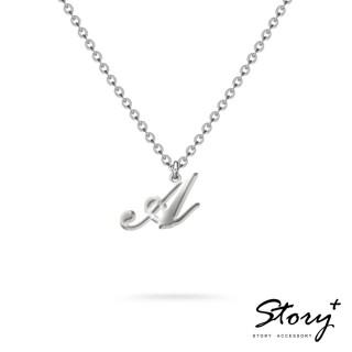 【STORY ACCESSORY】字母系列-字母A 純銀項鍊