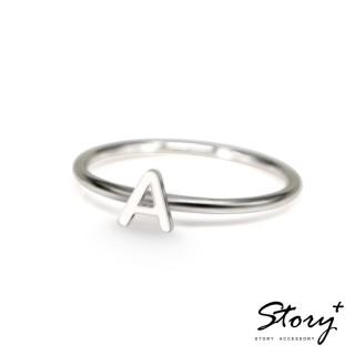【STORY ACCESSORY】字母系列-字母A 純銀戒指