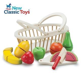 【荷蘭New Classic Toys】水果籃切切樂10588