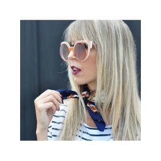 【FENDI】-時尚造型 太陽眼鏡FF0137S(橘色)