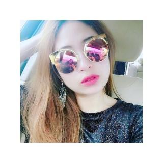 【FENDI】-廣告主打 水銀鏡面 太陽眼鏡FF0177S(金色)