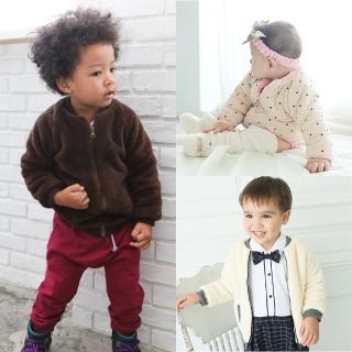 【baby童衣】保暖羊羔絨素面兒童外套 60204(共3色)