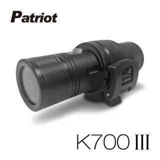 【愛國者】K700 III 三代 超廣角170度防水型1080P 極限運動 機車行車記錄器