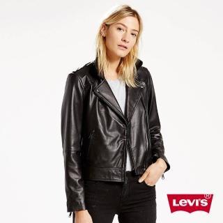 【Levis】羊皮皮衣外套 / 率性酷黑