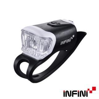 【INFINI】ORCA I-204W 白光LED鯨魚燈3模式警示前燈-黑(頭燈)