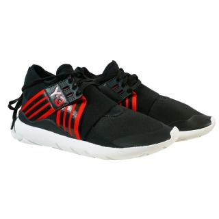 【Y-3 adidas】QASA ELLE LACE 武士忍者鞋(黑紅)