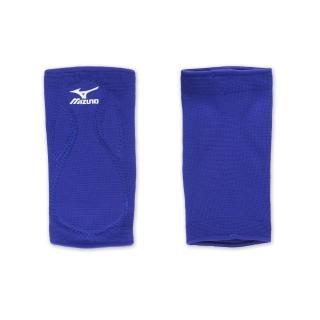 【MIZUNO】排球防撞運動護膝-巧固球 手球 一只入 美津濃(藍白)