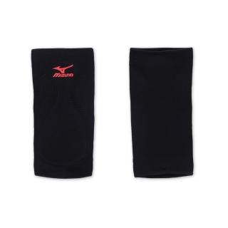 【MIZUNO】排球防撞運動護膝-巧固球 手球 一只入 美津濃(黑紅)