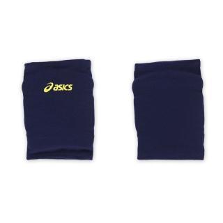 【ASICS】排球防撞短版泡棉護膝-巧固球 手球 一只入 亞瑟士(丈青黃)