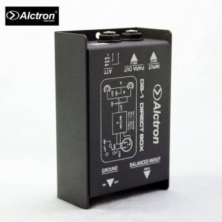 【ALCTRON】DB-1 被動式單聲道DI BOX阻抗器(原廠公司貨 商品保固有保障)
