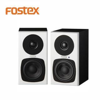 【FOSTEX】PM0.3 主動式監聽喇叭白色一對(FOSTEX的第一對3吋2音路監聽系統)
