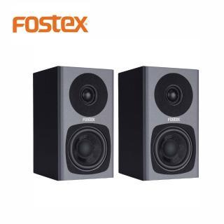 【FOSTEX】PM0.3 主動式監聽喇叭黑色一對(FOSTEX的第一對3吋2音路監聽系統)