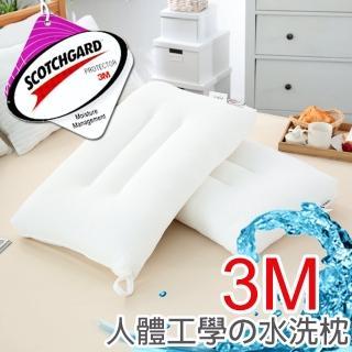 【FOCA】3M蜂巢式-人體工學水洗枕(一入)