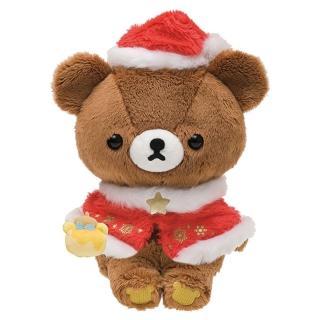 【San-X】拉拉熊2016聖誕節店舖限定版毛絨公仔(蜂蜜小熊)