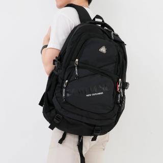 專業測試防水設計雙肩後背包 大容量可放17吋筆電(玖飾時尚)