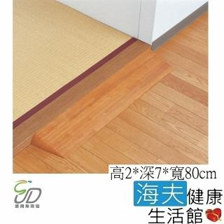 【通用無障礙】日本進口 Mazroc DX20 木製門檻斜板(高2cm、寬80cm)