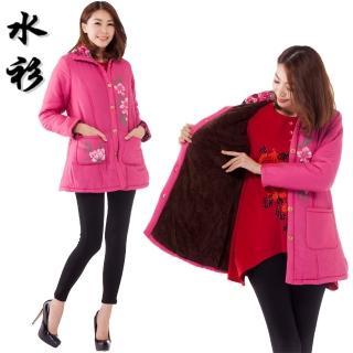 【水衫】緞面鋪棉保暖外套(C09-33)