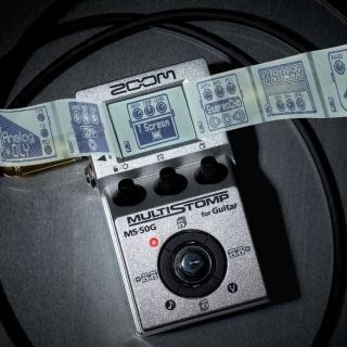 【ZOOM】超級怪獸吉他綜合效果器 / 贈導線 公司貨(MS-50G)