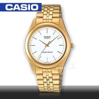 【CASIO 卡西歐】送禮首選_不鏽鋼錶帶_礦物玻璃_生活防水_指針男錶(MTP-1129N)