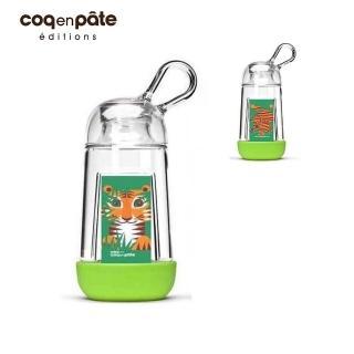 【BabyTiger虎兒寶】COQENPATE 法國無毒環保  BB瓶 - 綠色(水瓶 水杯  水壺)