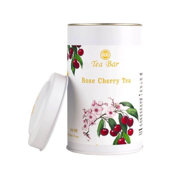 【B&G 德國農莊 Tea Bar】櫻桃玫瑰水果茶 中瓶(130g)