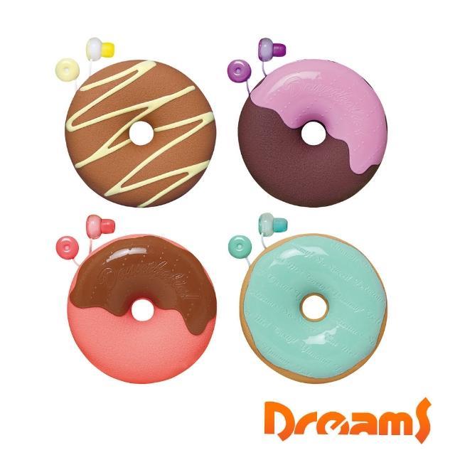 【Dreams】Donuts Earphone 甜甜圈耳機禮物組