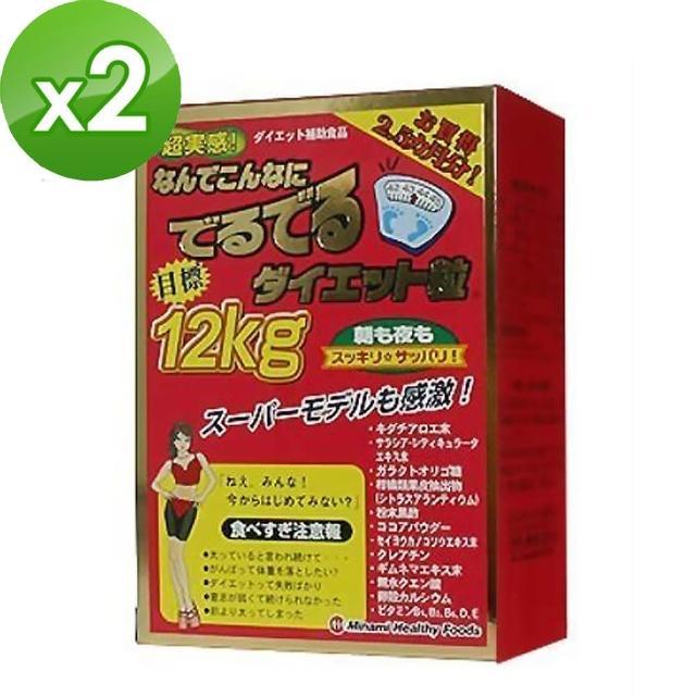 【日本MINAMI】超人氣氨基酸美體錠 加強版紅盒x2盒(75日份/盒)