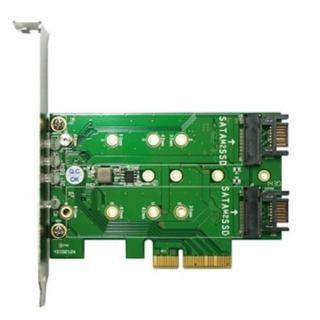 【伽利略】PCIe 4X M.2 SSD 轉接卡(M2PE1S2)