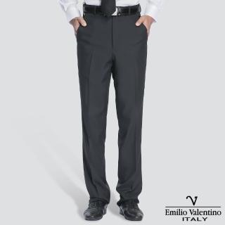 【Emilio Valentino 范倫提諾】超柔平面西褲(灰)