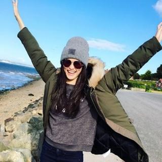 【米蘭精品】針織毛帽毛線帽(潮流可愛方塊笑臉女帽子生日情人聖誕節交換禮物4色73ie43)