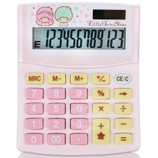 【E-MORE】Sanrio夢幻系列-雙星仙子12位數計算機(TS300)