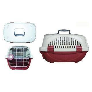 寵物專業運輸籠H165-無上開-紅色(M563B01-2)